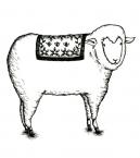 サーカス-羊がこっちを見てる
